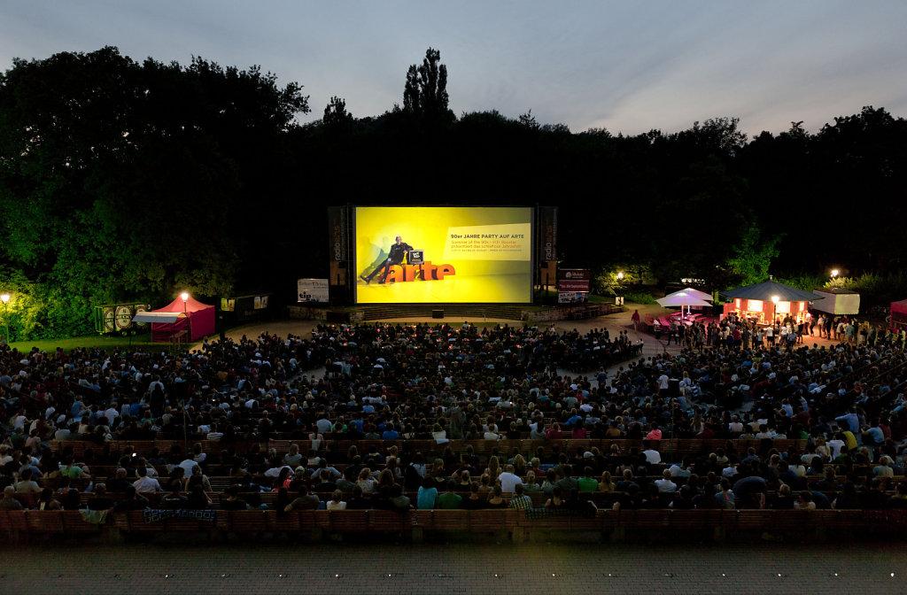Berlins schönstes Open Air Kino