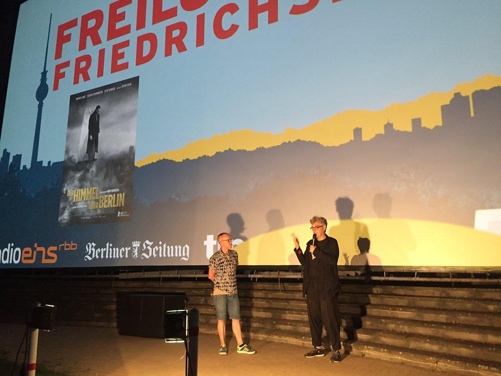 Wim Wenders im Gespräch mit Louis Schneider