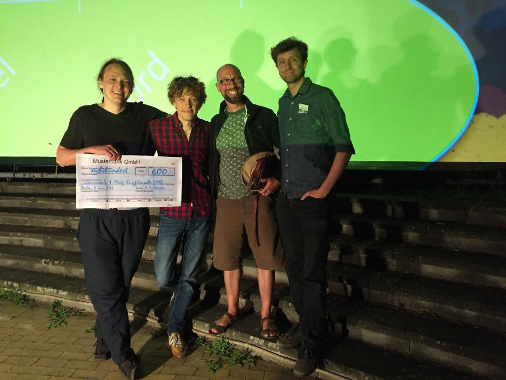 Gewinner der Kurzfilmrolle 2018