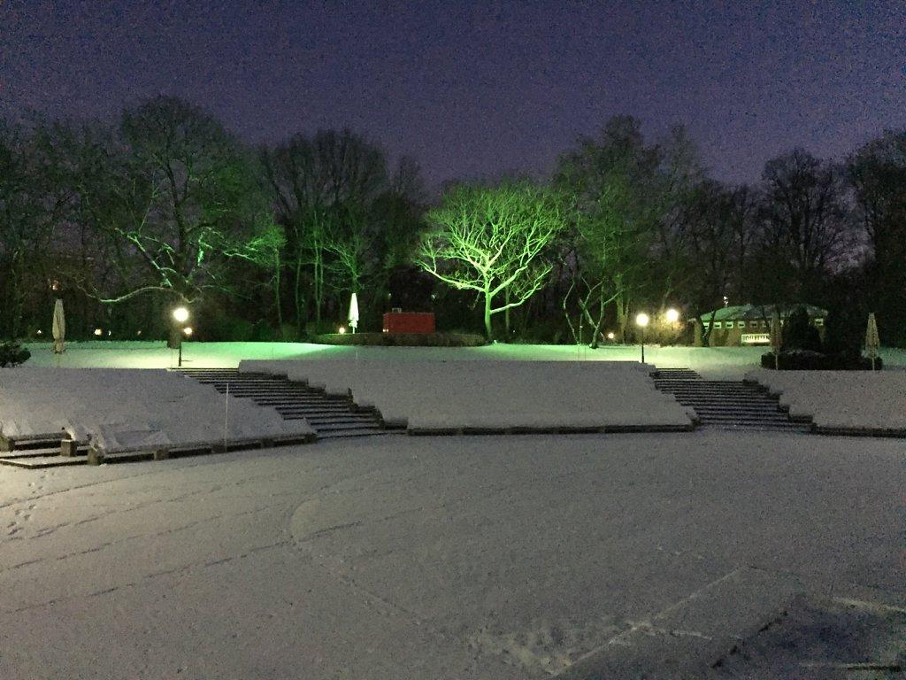 Grüner Schnee